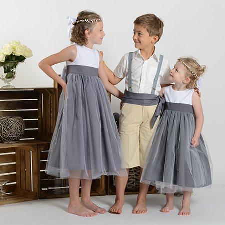 robe demoiselle d 39 honneur enfant cort ge d 39 anges. Black Bedroom Furniture Sets. Home Design Ideas